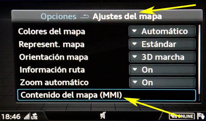 ▷ Audi Q2 MMI Navigation plus MMI touch (4G) update