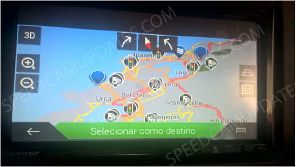 ▷ Pioneer AVIC-F9880DAB update  Speedcam for your maps  Download