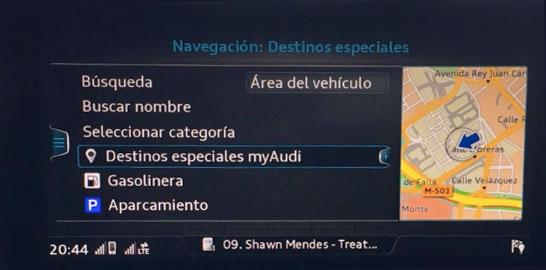 ▷ Audi Q2 MMI Navigation plus MMI touch (4G) update  Speedcam for